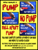 Pump No Pump Fall Apart Pumpmagictrick1